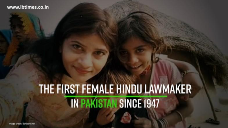 Krishna Kumari - The first female Hindu lawmaker in Pakistan since 1947