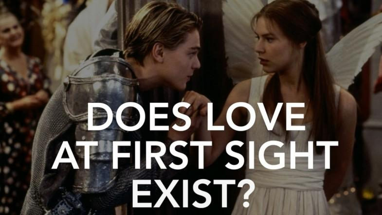 Does love at first sight exist?