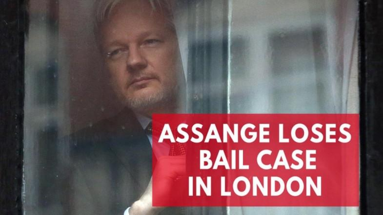 Wikileaks founder, Julian Assange, loses legal battle in London bail case