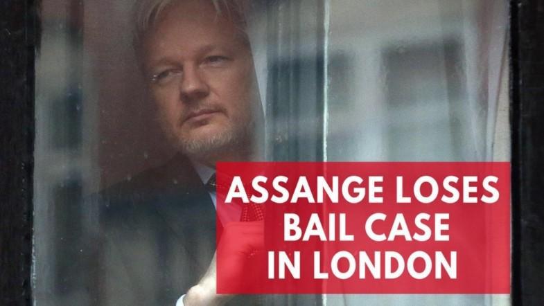 Wikileaks founder, Julian Assange, loses legal battle in London bail case
