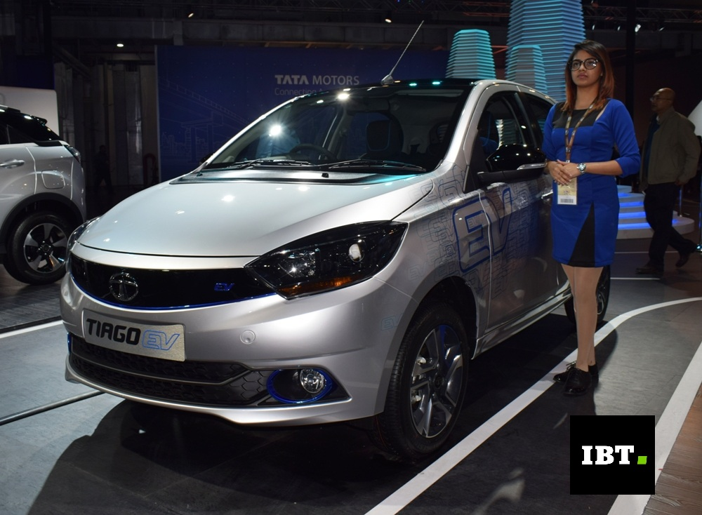 Electric Cars For Sale >> Tata Tiago EV, Tigor EV unveiled at Auto Expo 2018 to be launched in India soon - IBTimes India