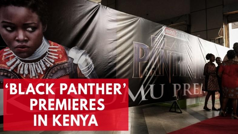 Black Panther premieres in Kenya in the most elegant way