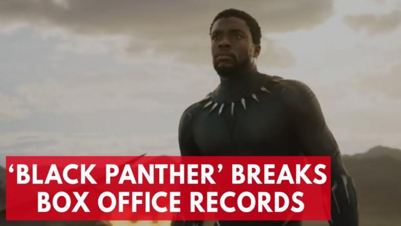 Black Panther breaks box office record in opening weekend