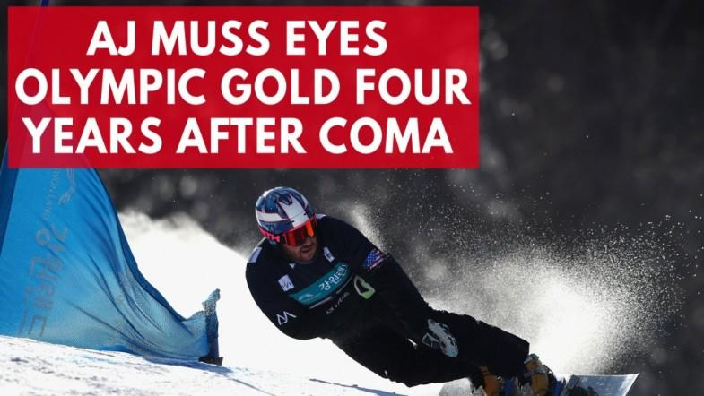 Four years after being put in a Coma, Olympic snowboarder AJ Muss eyes Olympic gold