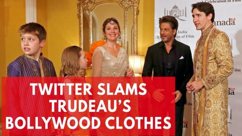 Twitter mocks Justin Trudeaus Bollywood outfits during trip to India