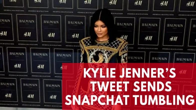 Snapchat loses $1.3 billion in market value over Kylie Jenners tweet