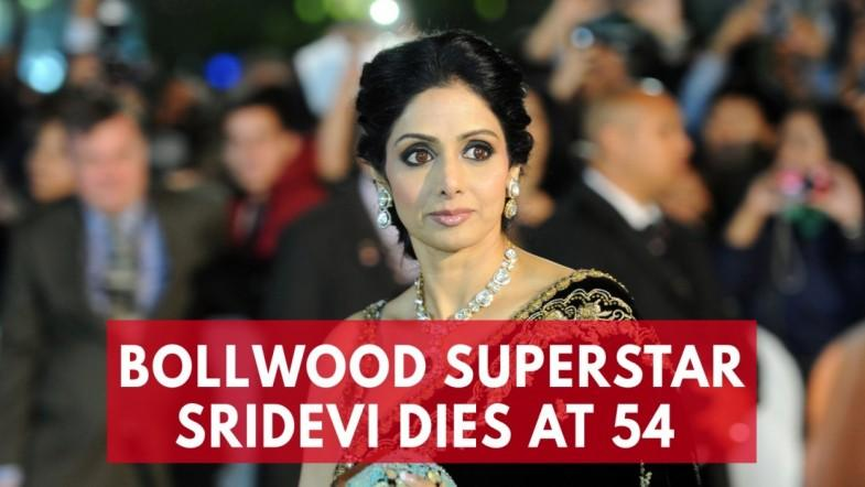 Bollywoods first female superstar Sridevi Kapoor dies at 54