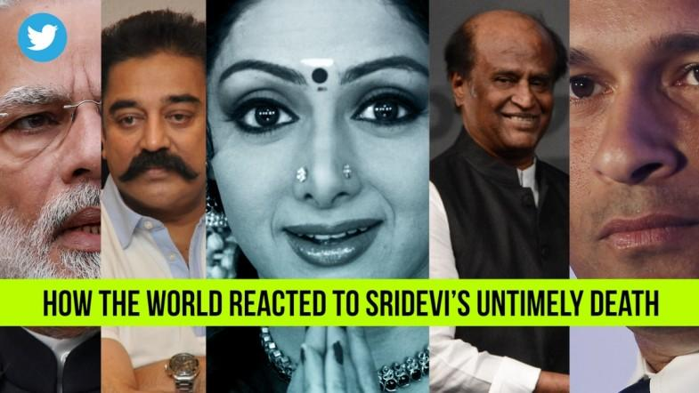 How The World Reacted To Sridevi's Untimely Death