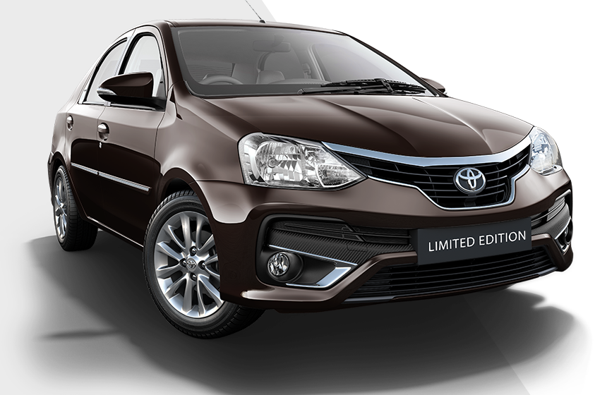 Toyota Platinum Etios Limited Edition launched at Rs 7.84 ...