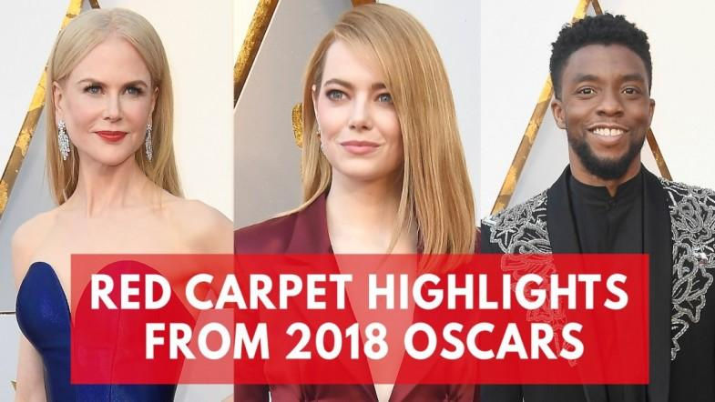 Red carpet highlights from 2018 Oscars: From Chadwick Boseman to Emma Stone