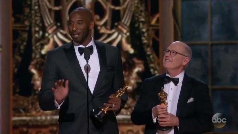 Kobe addresses Fox News Laura Ingrahams shut up and dribble remarks in Oscar acceptance speech