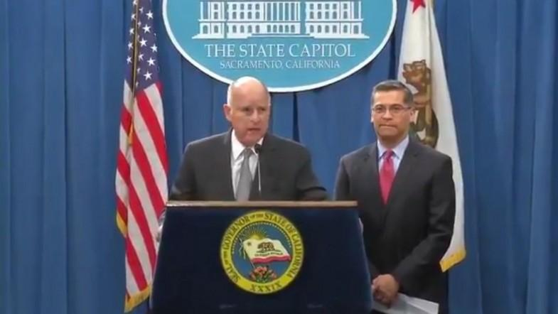 California Governor Jerry Brown slams Jeff Sessions for California lawsuit