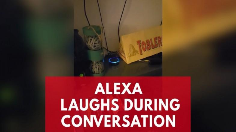 Alexa laughs in the middle of a conversation