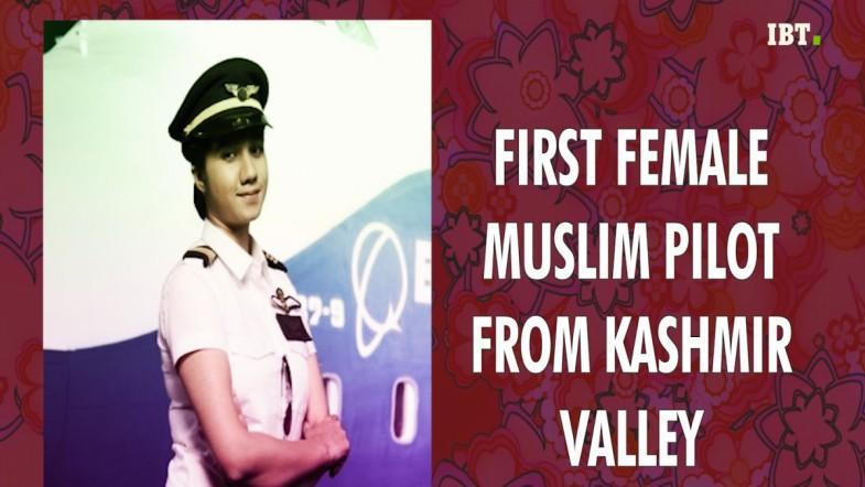Ayesha Aziz: Indias first female pilot from Kashmir