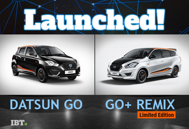 Nissan's Datsun GO, GO+ Remix Limited Edition launched at ...