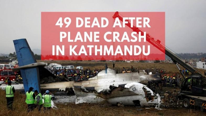 49 dead after plane crash-lands at Kathmandu Airport