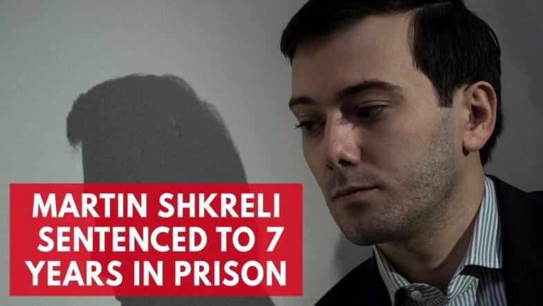 Pharma Bro Martin Shkreli sentenced to seven years in prison