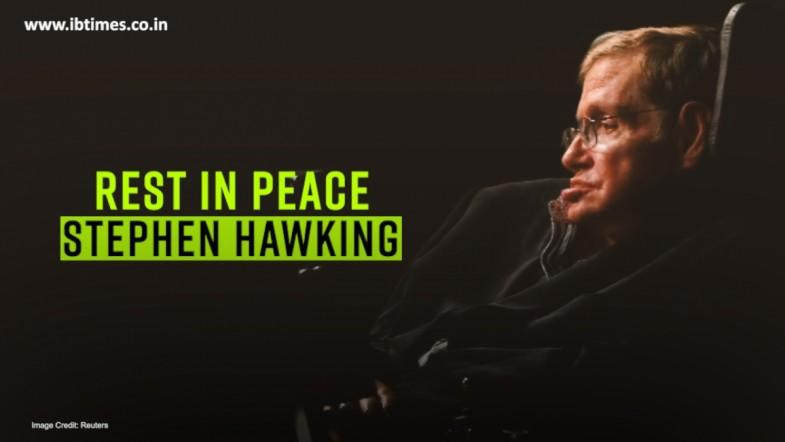 Physicist Stephen Hawking Dies At His Home In Cambridge