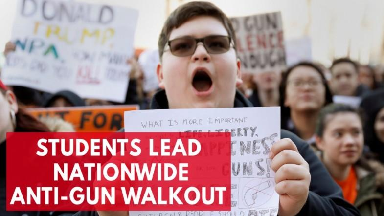 Students across the nation plan walkout in protest of gun violence