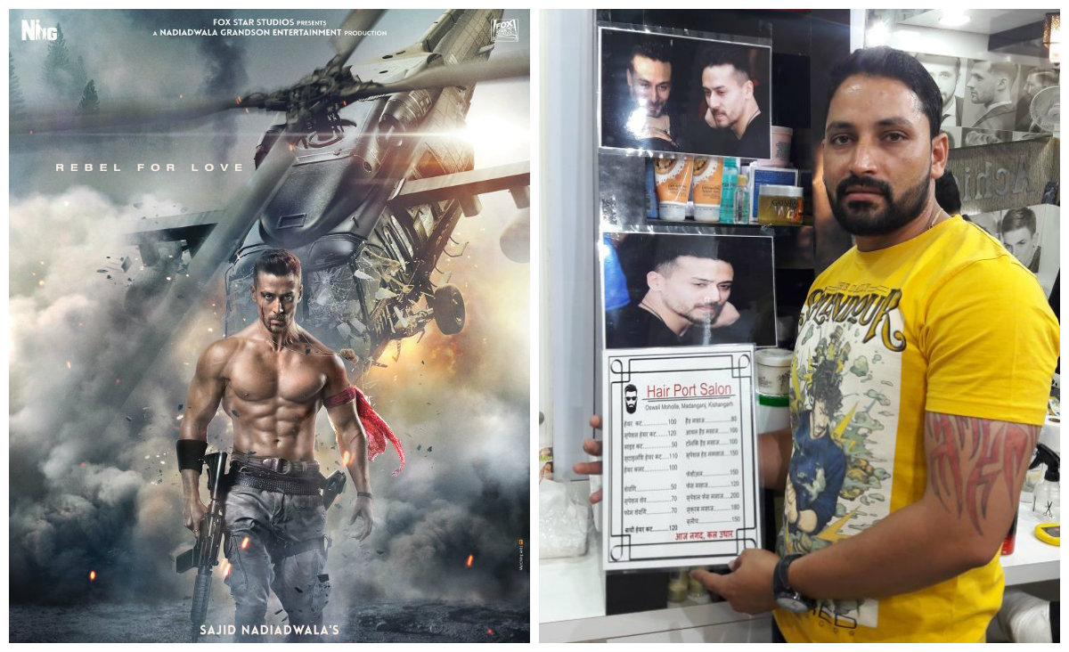 Tiger Shroffs Baaghi 2 Look In Demand At Small Town Salons