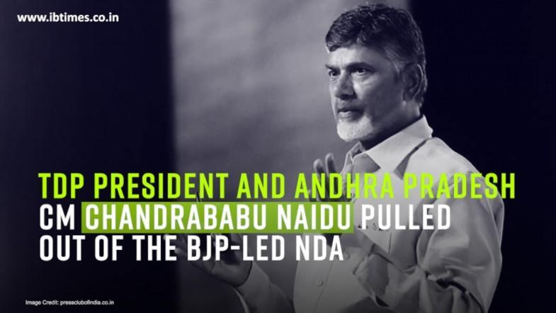 TDP breaks ties with NDA amid Andhra Pradesh special status row