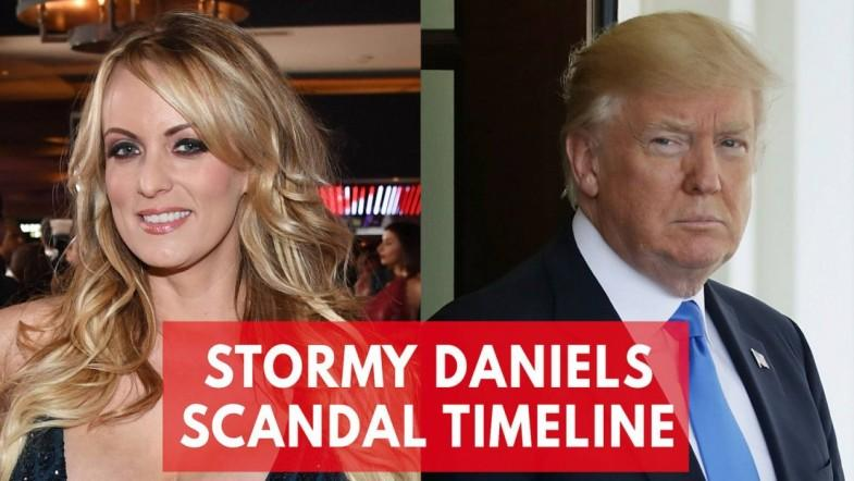 A timeline of the Stormy Daniels and President Trump scandal