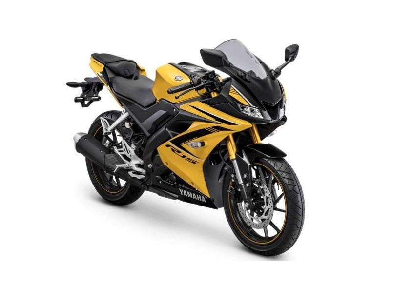 2018 Yamaha YZF-R15 unveiled with new Racing Yellow color - IBTimes India