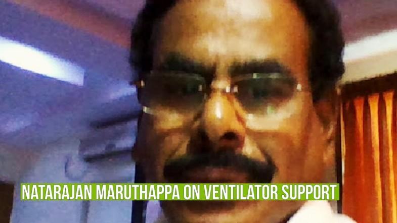 VK Sasikala's husband Natarajan Maruthappa has been put on ventilator support