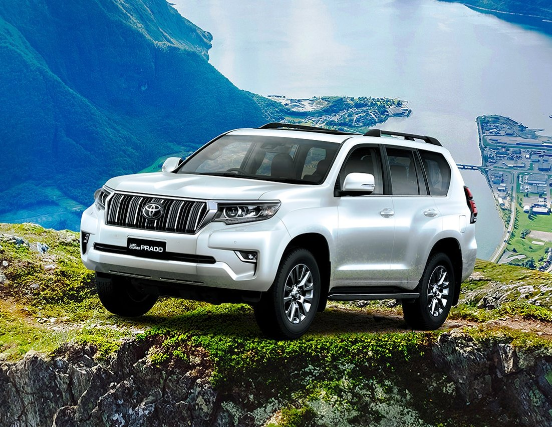 2018 toyota land cruiser prado premium suv launched at rs. Black Bedroom Furniture Sets. Home Design Ideas