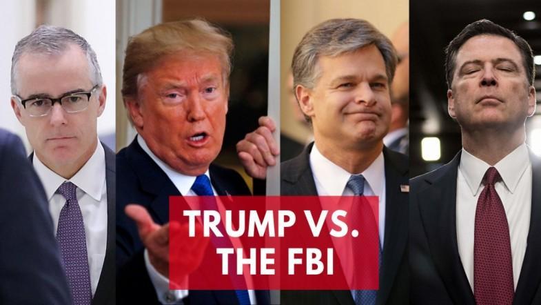 President Trump vs the FBI