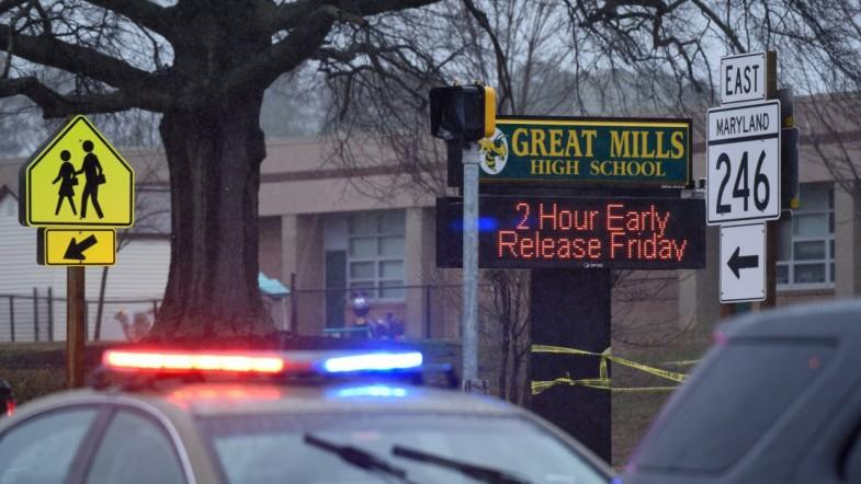 Great Mills High School shooting: Armed student dead after injuring two others