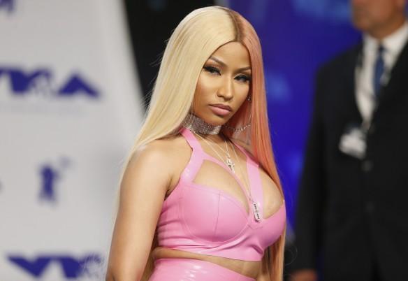Nicki Minaj at 2017 MTV Video Music Awards