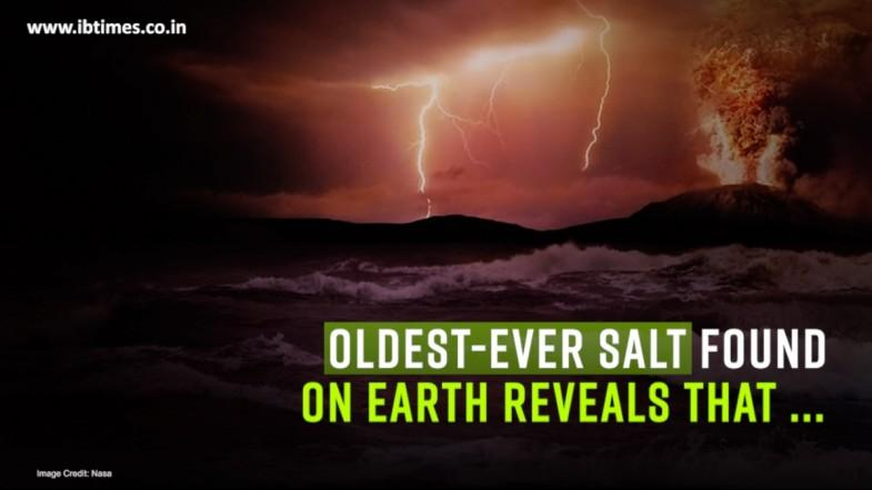2 billion-year old salt reveals how ancient Earth evolved life-sustaining oxygen