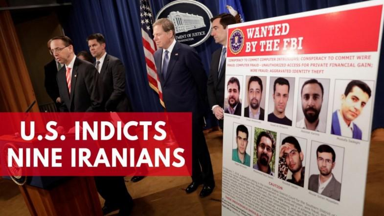 US indicts nine Iranians in hacking investigation