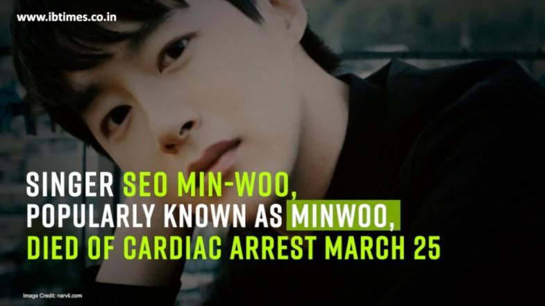100% band leader Minwoo dies of cardiac arrest