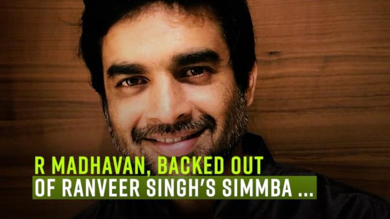 Madhavan loses Simmba