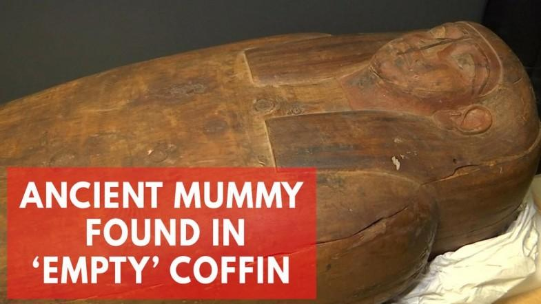 2,500-year-old mummy found inside empty coffin