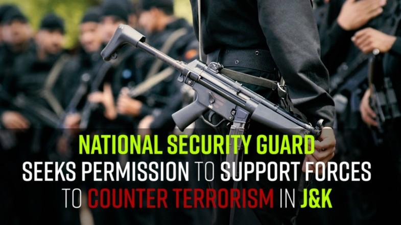NSG wants to join Kashmir fight