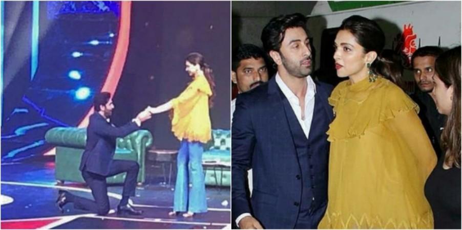 Did Ranbir Kapoor propose to Deepika Padukone again ...