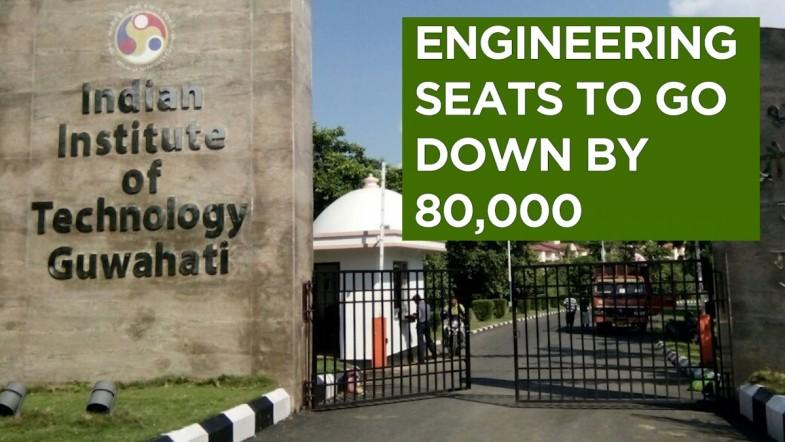 Engineering seats to go down by 80,000