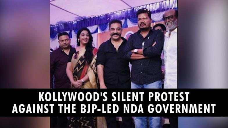 Kollywoods protest against the BJP-led NDA government
