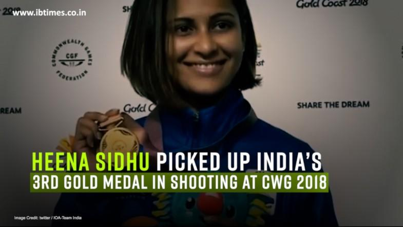 CWG 2018, Day 6: Sidhu shoots Gold