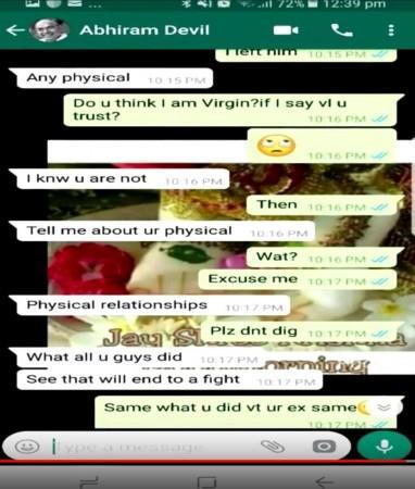 Dirty talk whatsapp
