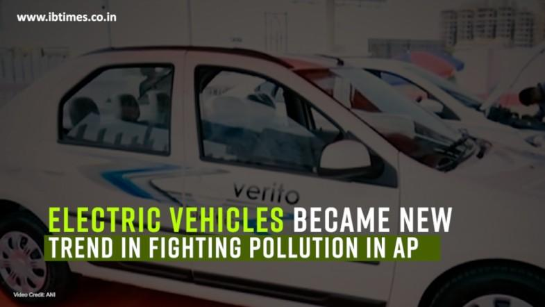 Electric vehicles become new trend in AP to fight pollution