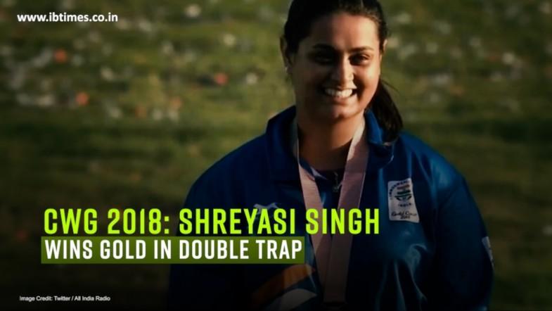 CWG 2018: Shreyasi Singh wins gold in double trap