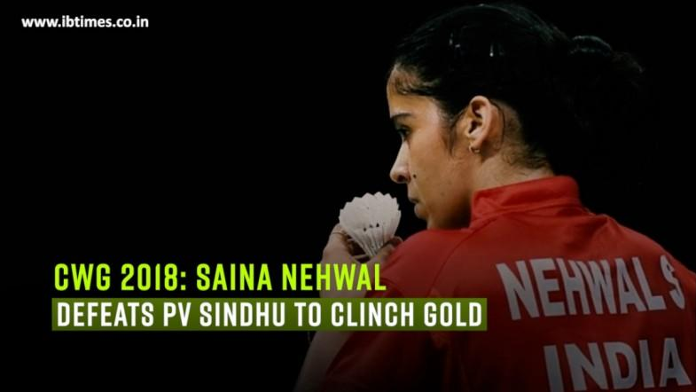 CWG 2018: Saina Nehwal defeats PV Sindhu to clinch gold
