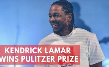 Rapper Kendrick Lamar wins Pulitzer Prize for music