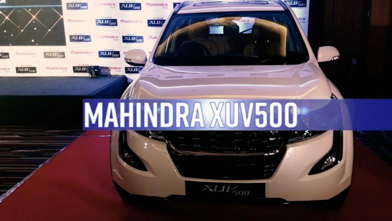 Mahindra launched new XUV500
