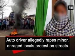Auto driver allegedly rapes minor
