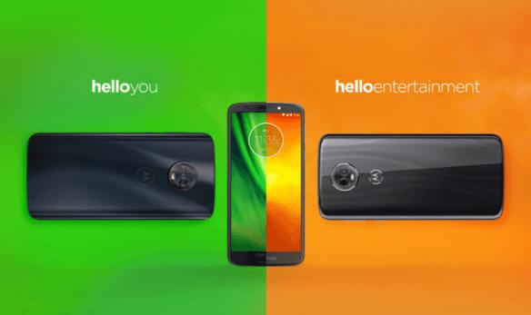 Motorola, Moto G6, Moto G6 Plus, Moto G6 Play, Moto E5, Moto E5 Plus, Moto E5 Play
